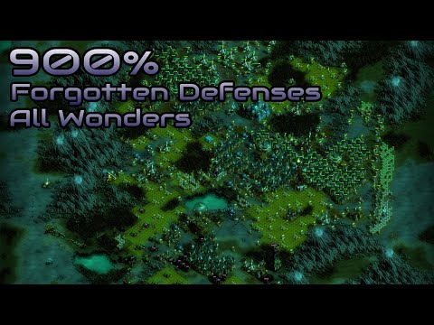 They are Billions - 900% No pause - Forgotten Defenses/All Wonders