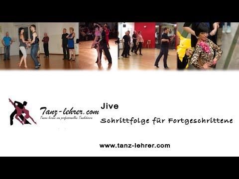 Jive Tanzschritte und Figuren - Schrittfolge für Fortgeschrittene - Dimitrov & Staevska