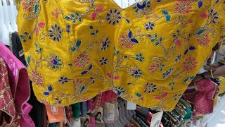 #Saree Blouse Collection Rs.100-500| Readymade Bridal Blouses Rs.1100| Blouse Designs@Saravana Store