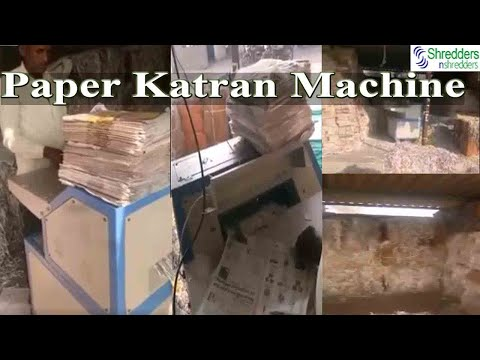 Paper Katran Machine for Fruit Packaging