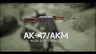 "AK47 vs AKM (""Kalashnikov"")"