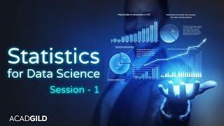 Statistics Tutorial for Data Science 2018 Part-1  Introduction to Statistics   Data Science Tutorial