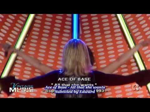 Ace of Base - All that she wants (inglés - español))
