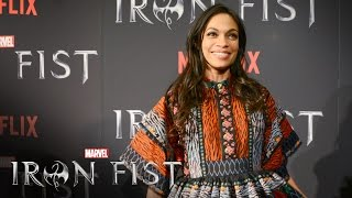 Rosario Dawson & Jeph Loeb on Marvel's Iron Fist