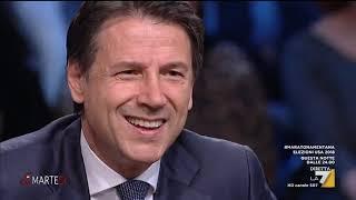 L'intervista al premier Giuseppe Conte nella sua prima apparizione in uno studio televisivo