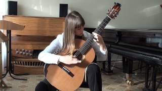 """Carlo Dominikonų - """"Kоyunbaba"""" Part 4, performs Alexandra Pilipenko 12 years."""