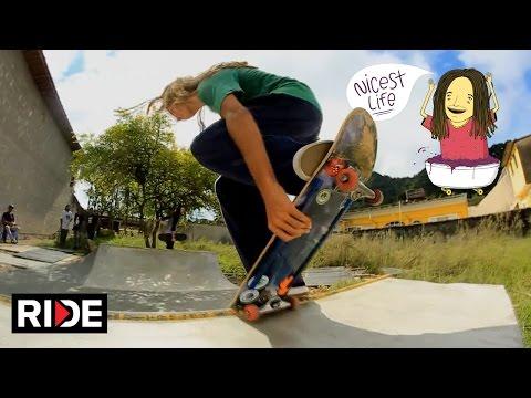 The Nicest Life - Skate and Explore the Coast of São Paulo with Sergio Santoro on RIDE - Episode 2