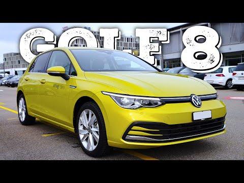 New Volkswagen Golf 8 2021