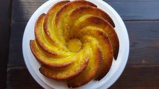 ТВОРОЖНО-АПЕЛЬСИНОВЫЙ КЕКС🍊простейший рецепт🍊 Easy orange bundt cake