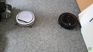 Medion MD18500 vs. Inlife i7 zwei 99 Euro Staubsauger Roboter im Vergleich