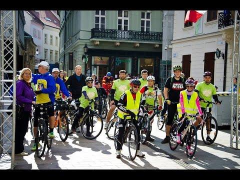 Na kolesách proti rakovine v Bratislave 2015