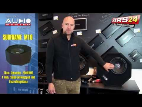 Reserverad-Subwoofer mit BUMMS! -REVIEW- Auch als Aktivwoofer! ARS24