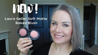 NEW! Laura Geller Soft Matte Baked Blush