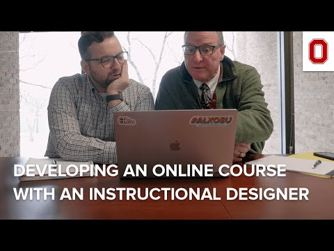 Developing an Online Course with an Instructional Designer ...
