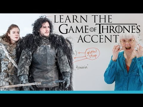 Learn to speak like Jon Snow & Ygritte from GAME OF THRONES!