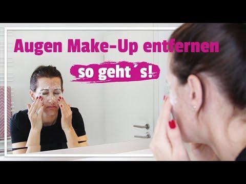 Wie richtig abschminken – Augen Make-Up entfernen so geht's!