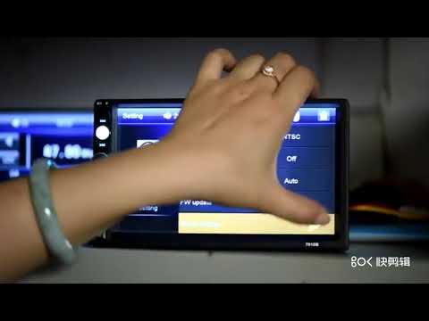 Автомагнитола 2 din с сенсорным экраном 7 дюймов и камерой заднего вида