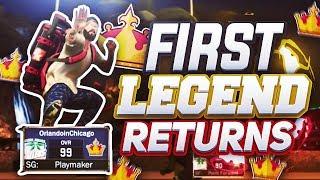 First LEGEND Returns to NBA 2K17!