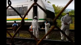Identifican a grafiteros que murieron arrollados en el metro de Medellín   Noticias Caracol