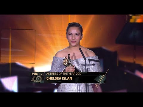 Actress of the Year - Indonesian Choice Awards 2017: Chelsea Islan