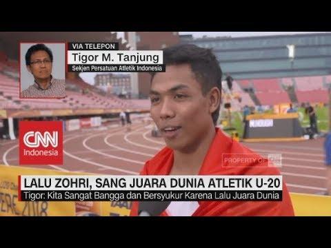 Lalu Zohri, Sang Juara Dunia Atletik U-20