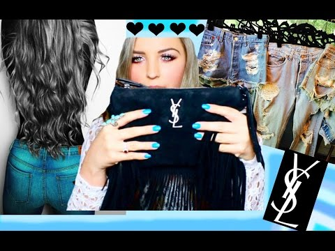 My YSL Purse, GUESS, Vintage & More Haul!