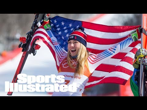 Mikaela Shiffrin Captures Gold In Women's Giant Slalom | SI Wire | Sports Illustrated