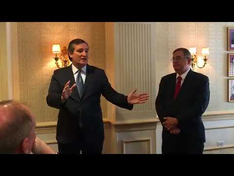 Sen. Cruz Delivers Remarks to the Denton County Chambers of Commerce - May 10, 2018