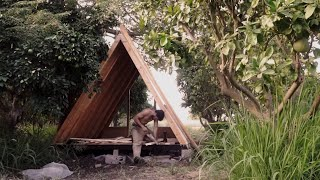 A frame cabin: The making