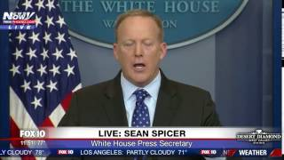 MUST WATCH: Sean Spicer Asks Reporter If He Wants To Do His Job (FNN)