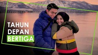 Rayakan Ulang Tahun ke-9 Perkawinan dengan Irwansyah, Zaskia Sungkar: Tahun Depan Bertiga