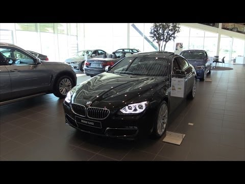 BMW 6 Series GranCoupe 2015 In depth review Interior Exterior