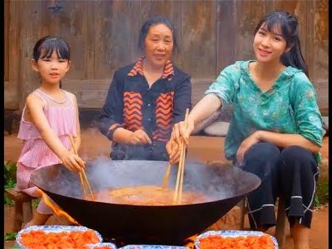 #大胃王 全村第一吃貨消滅30斤火鍋肉