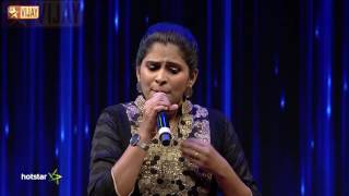 Super Singer Junior - A Medley Tribute To Amma By Sathyaprakash And Pooja