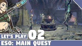 The Harborage Quest #02 Let's Play Elder Scrolls Online Main Quest!