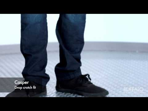 Buffalo David Bitton – Men's jeans fitting video