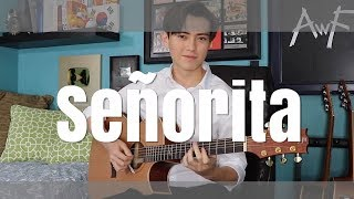 Señorita   Shawn Mendes, Camila Cabello   Cover (fingerstyle Guitar) Andrew Foy