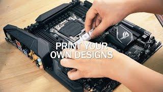כך מעצבים לוח אם עם מדפסת תלת ממד