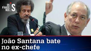 João Santana manda Ciro Gomes subir o tom contra Lula