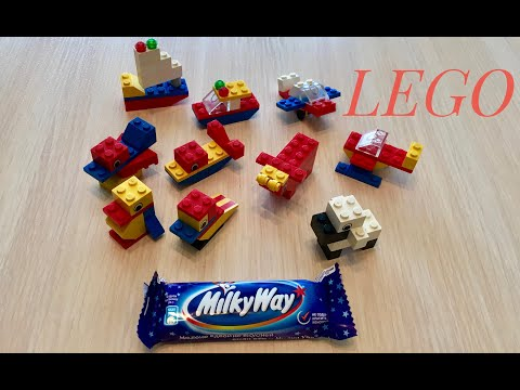 Лего сундучки и милки вэй из детства, LEGO, MilkyWay