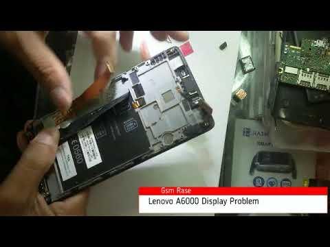Lenovo dead mobile, display lighting problem ,easy repair