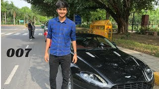 James Bond Aston Martin in Delhi | Pranav