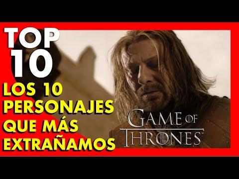 Game of Thrones : Los 10 personajes que más extrañamos - Top Ten #61 |Popcorn News