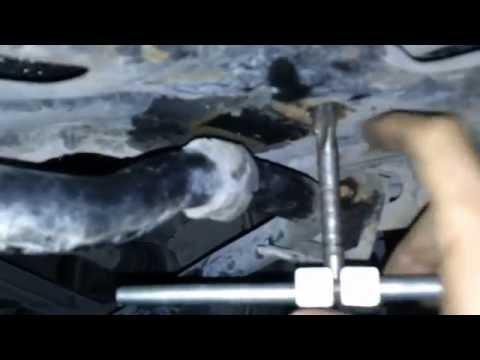 DAEWOO MATIZ восстановление резьбы на посадочном месте втyлки стабилизатора