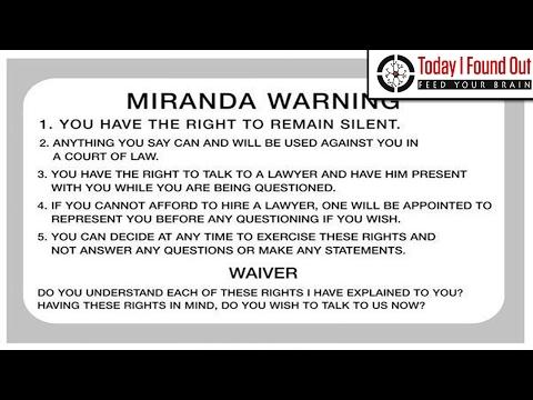 Who was Miranda of the Miranda Warning?