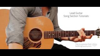 Bluebonnets Julia's Song - Aaron Watson - Guitar Lesson and Tutorial