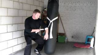 How to train Joint Locks and Limb Destructions on the Heavy Bag