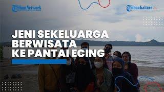 Gegara Larangan Mudik Lebaran Idul Fitri, Jeni Sekeluarga Pilih Berwisata ke Pantai Ecing Nunukan