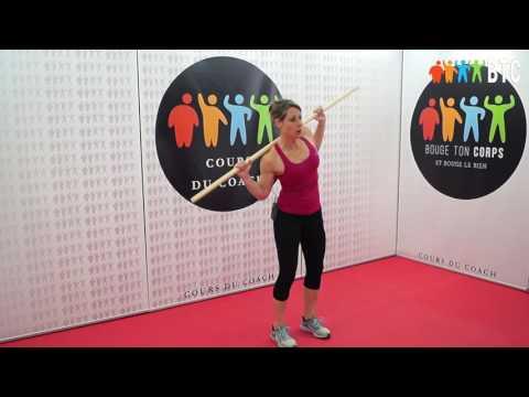 Les exercices pour le renforcement des muscles des mains des femmes de vidéo