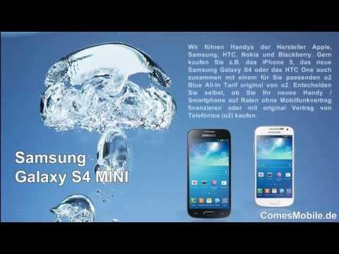 Galaxy S4 mini Ratenkauf oder mit Vertrag - ComesMobile.de